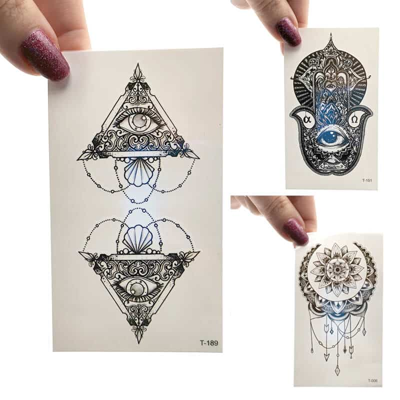 začasni tattooji all seeing eye tattoo