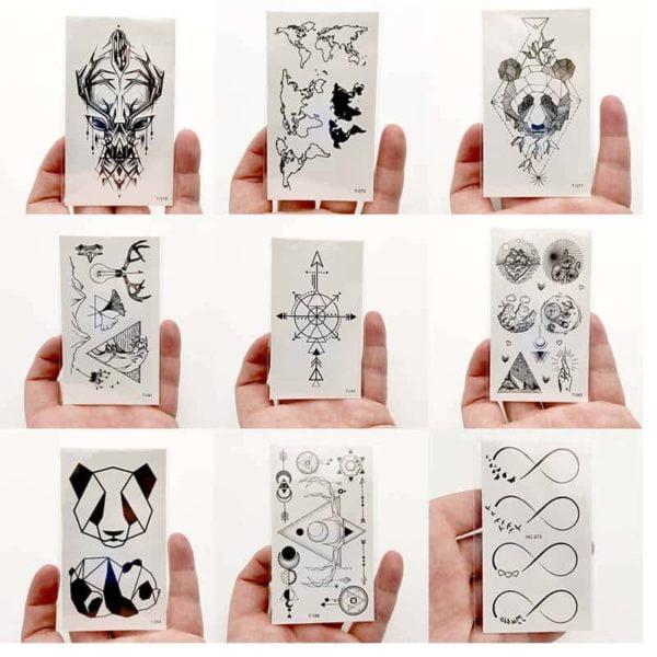 Začasni tattooji prekrasnih oblik 1