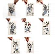 začasni tattooji v obliki živali