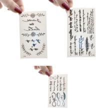 začasni tattooji z napisi