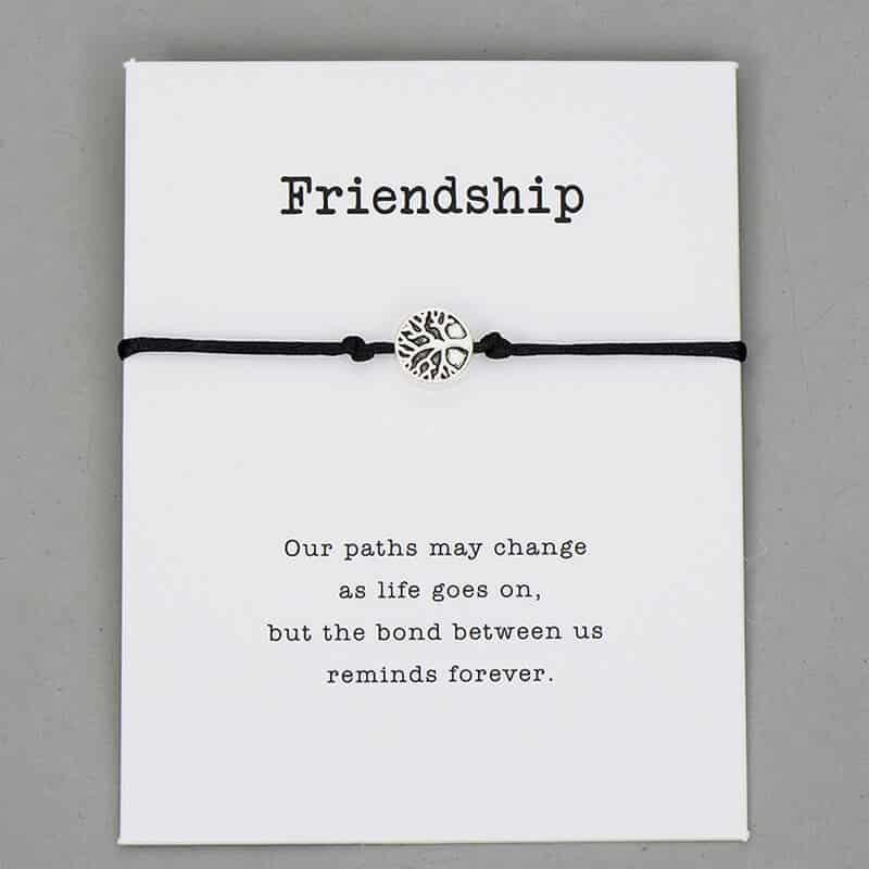 Drevo življenja zapestnice za prijatelje