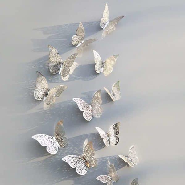 Senske nalepke 3d metuljček