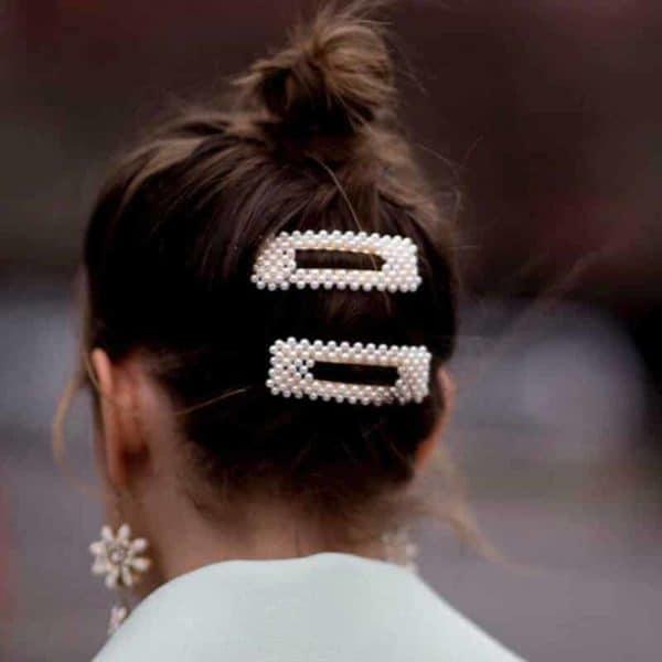 Sponke za lase biseri