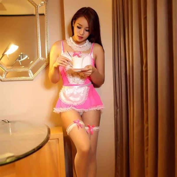 kostum erotične služkinje
