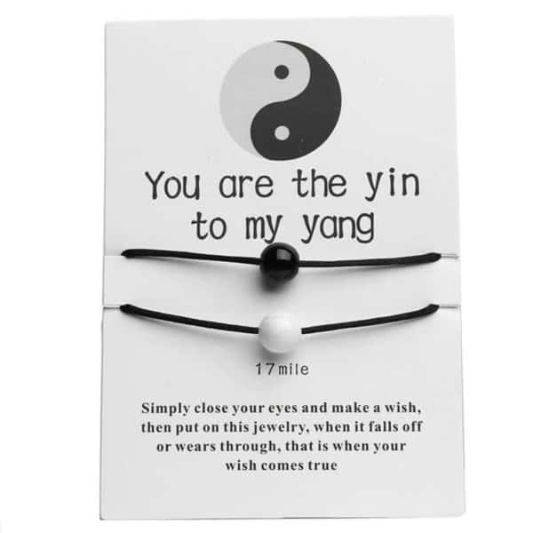 yin yang zapestnica prijateljstva