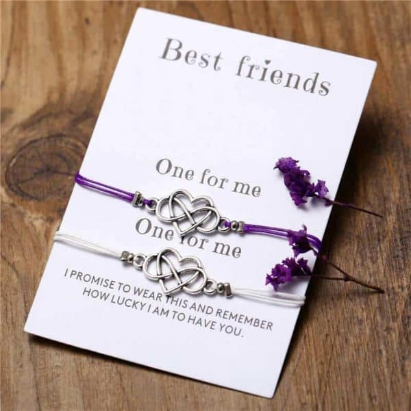 zapestnica prijateljstva neskončna ljubezen