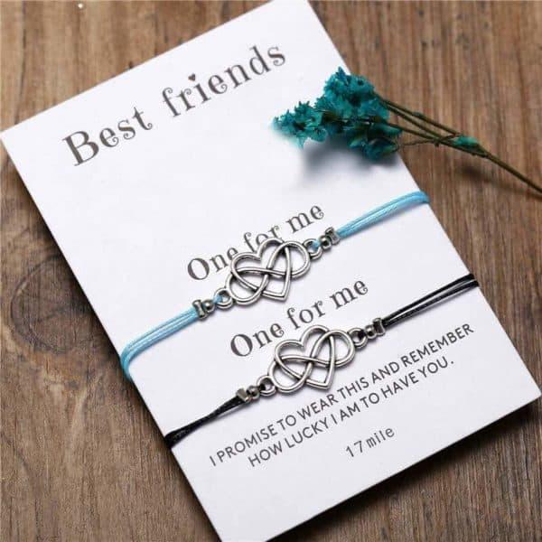 zapestnica prijateljstva neskončna ljubezen za prijatelje