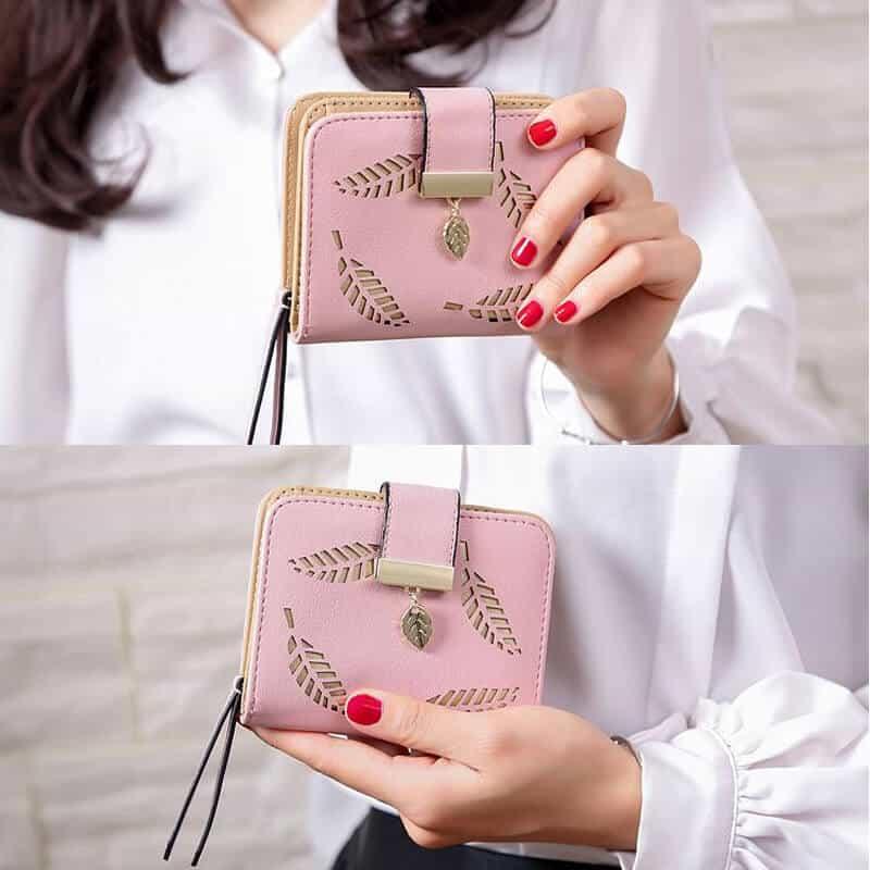 ženska denarnica iz usnja