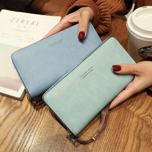 Usnjene denarnice za ženske velike