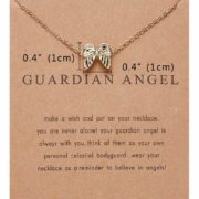 Zlata verižica angelska krila