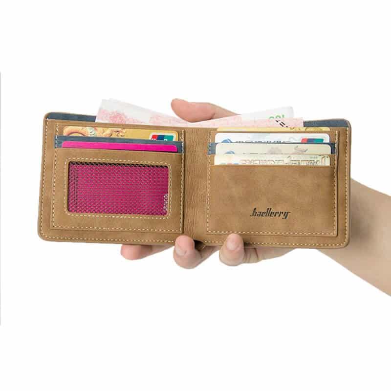 poceni denarnica za moške rjave barve