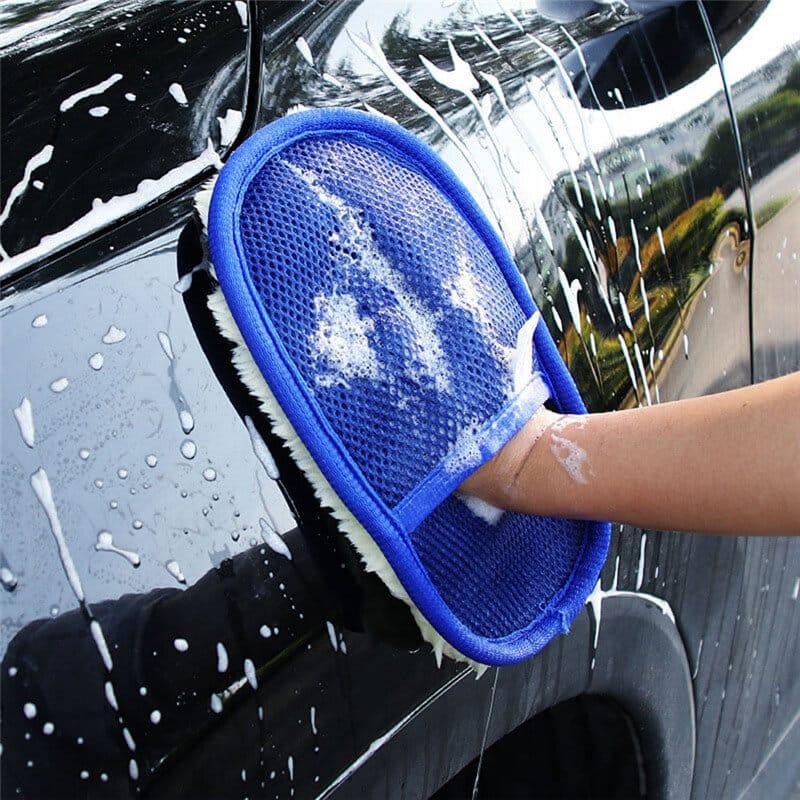 rokavica za čiščenje avtomobila