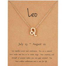 Verižica horoskop z obeskom leva simbol leva