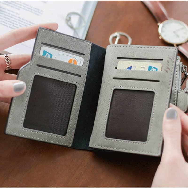 usnjena denaarnica mini za ženske iz usnja