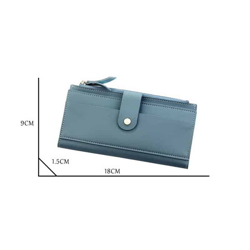 velikost usnjene denarnice