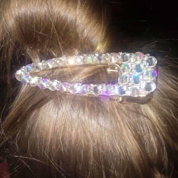 Sponke za lase z bleščečimi dijamantki