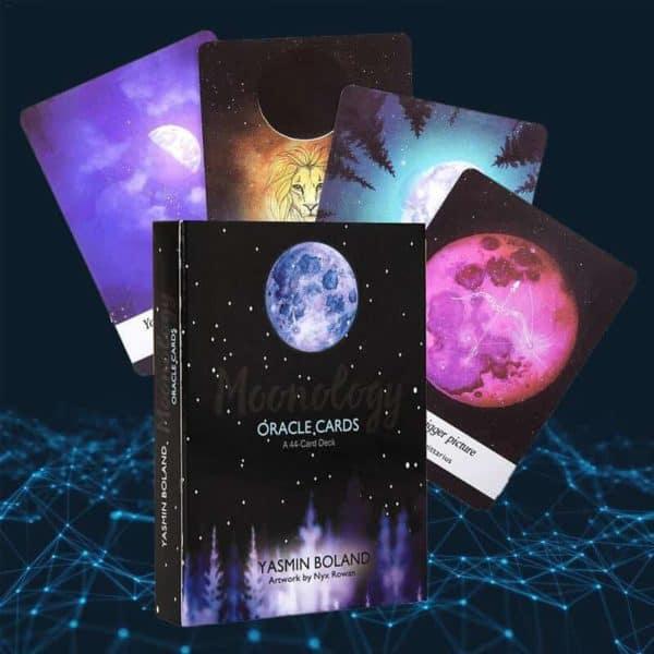 karte tarot za vedeževanje luna