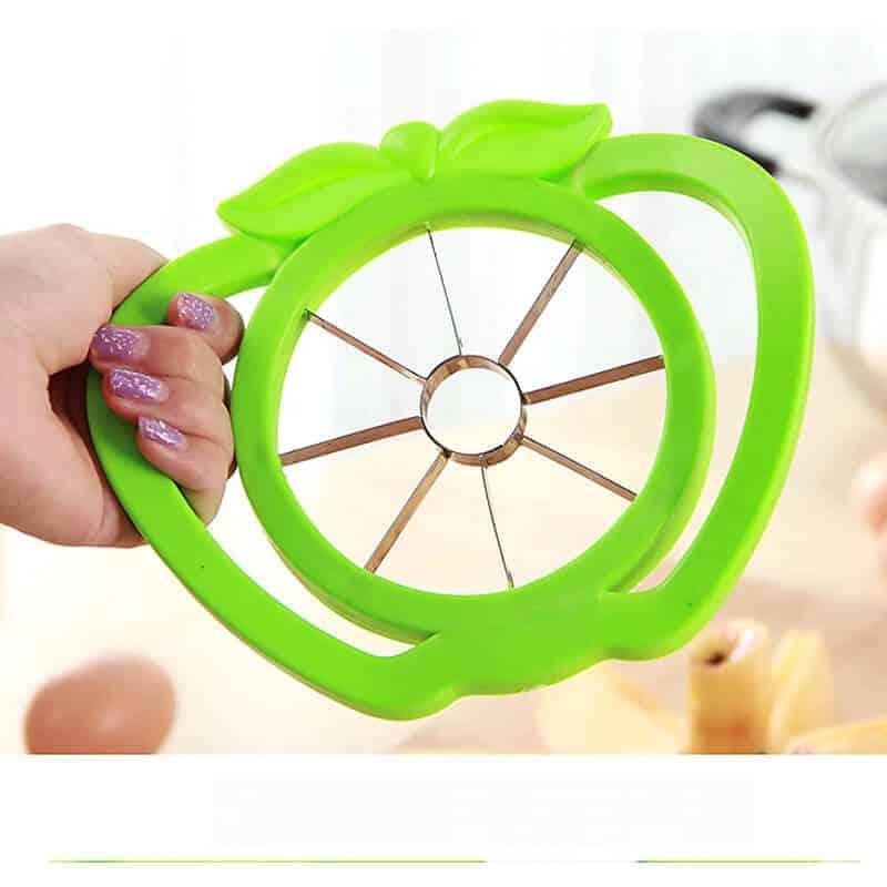 rezalnik jabolk zelene barve
