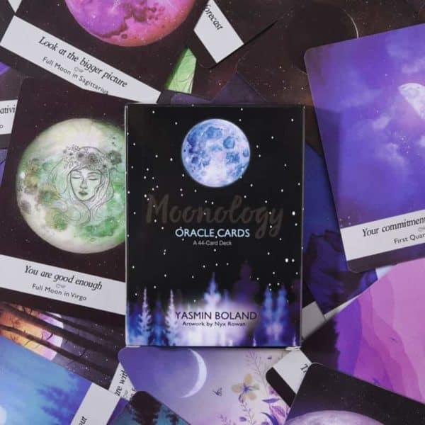 tarot karte luna moonology