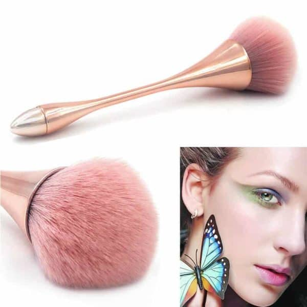 čopič za makeup roza