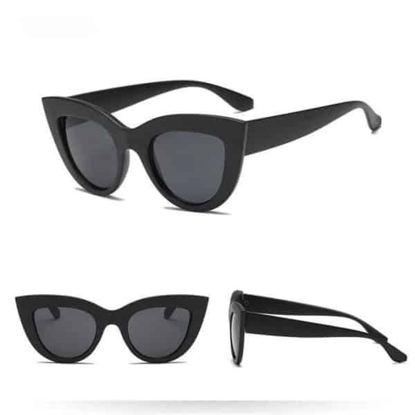 ženska črna sončna očala