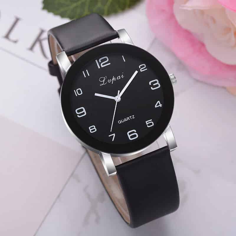ženske ure ročne črna barva