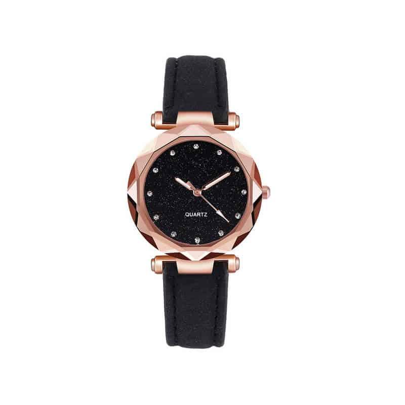 Damske ure črna barva