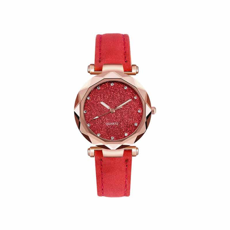 Rdeče damske ure