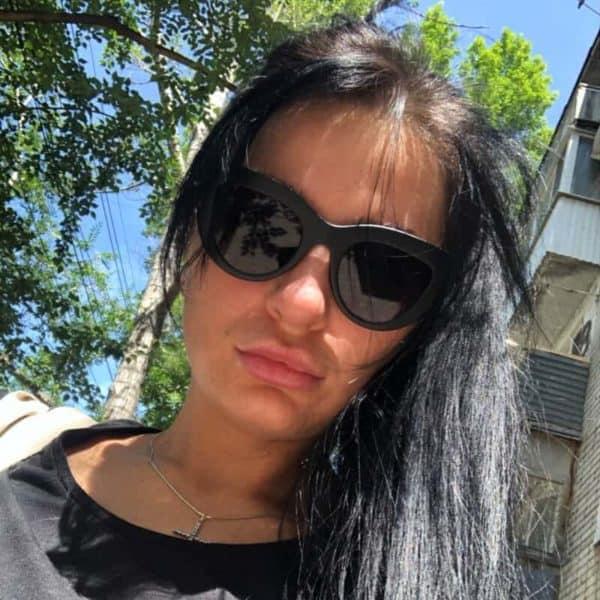Sončna očala cat eye za ženske