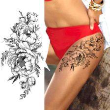 Začasni tattoo za nogo