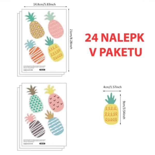 nalepke ananas za otroško sobo