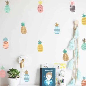otroške nalepke za sobo ananas