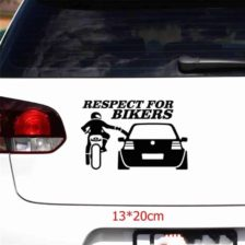 respect for bikers