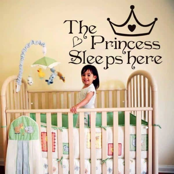 stenska nelapke the princess sleeps here