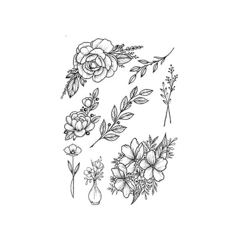 tattoo nalepka