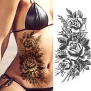 tattoo začasni vrtnice