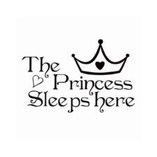 the princess sleeps here