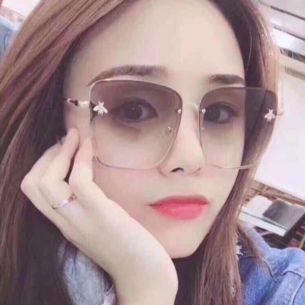 velika ženska sončna očala