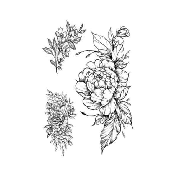 vrtnice začasni tattoo