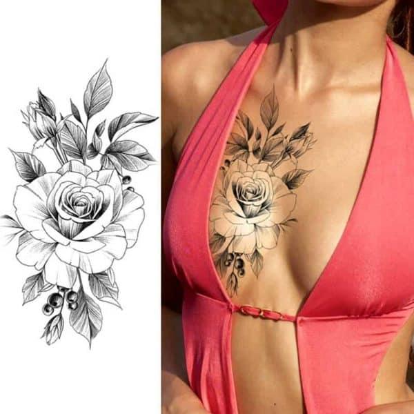 začasni tattoo dominantna vrtnica