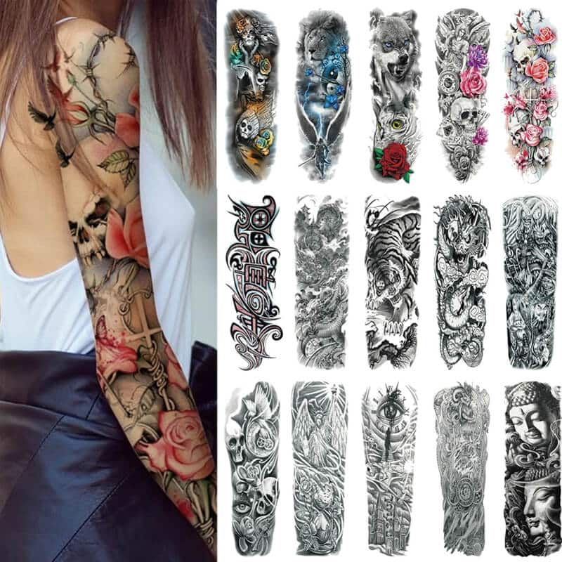 začasne tattoo nalepke za ženske