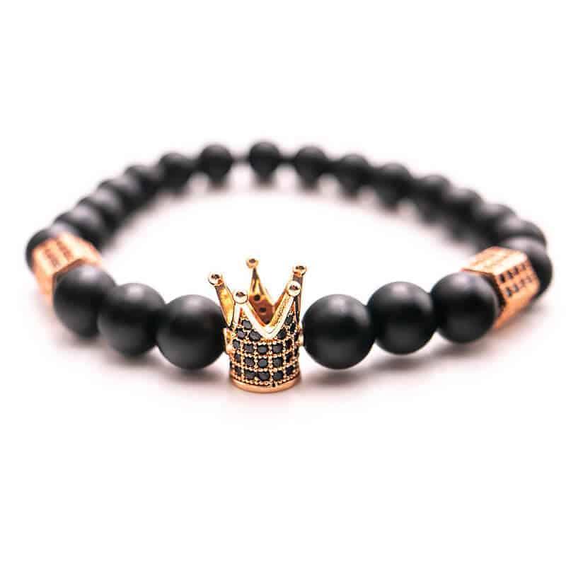 crown zapestnica za moške zlata