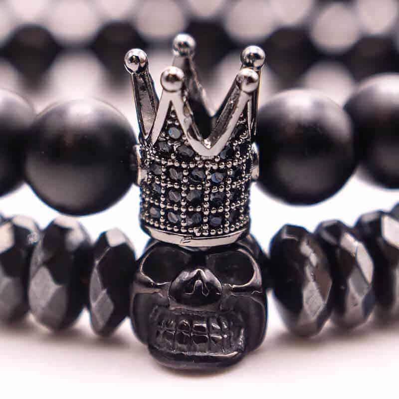 obesek krona za zapestnico crown