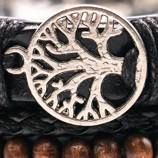 Moška zapestnica drevo življenja 1