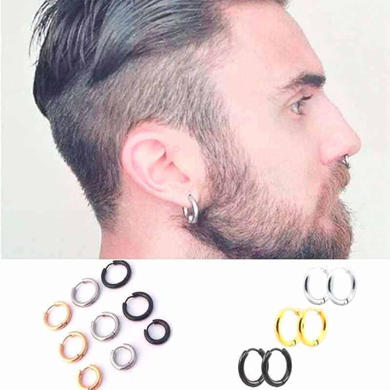 Piercing za nos srebrne barve