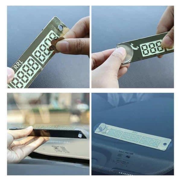 Začasna kartico za telefonsko številko avtomobila