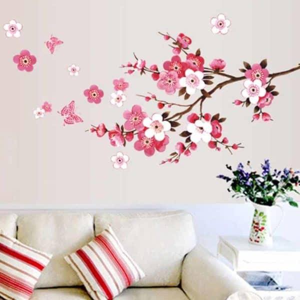 drevo stenske nalepke barvne