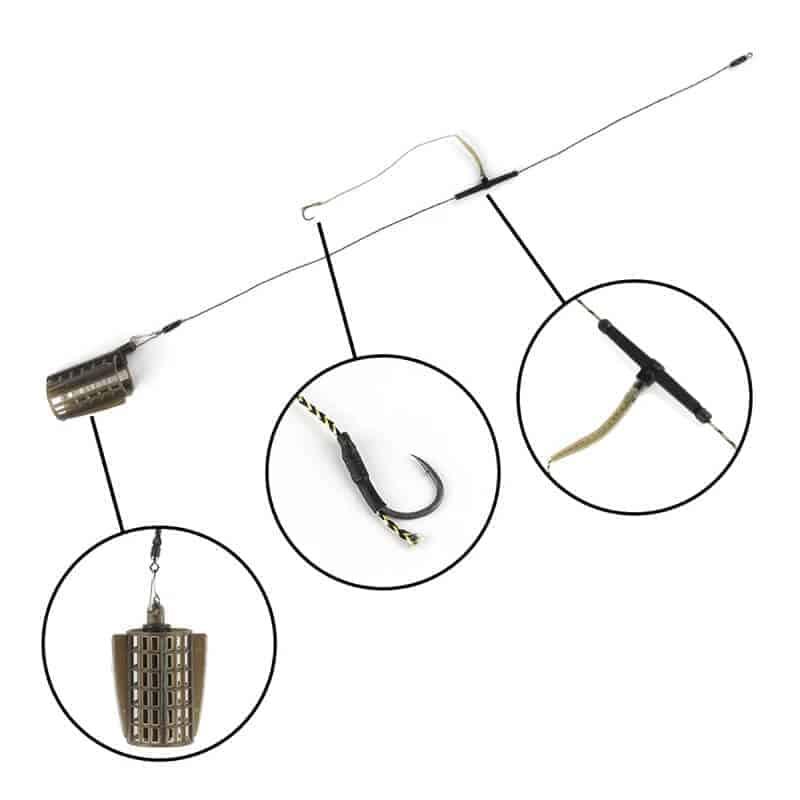 feeder sistem za krapa s kletko