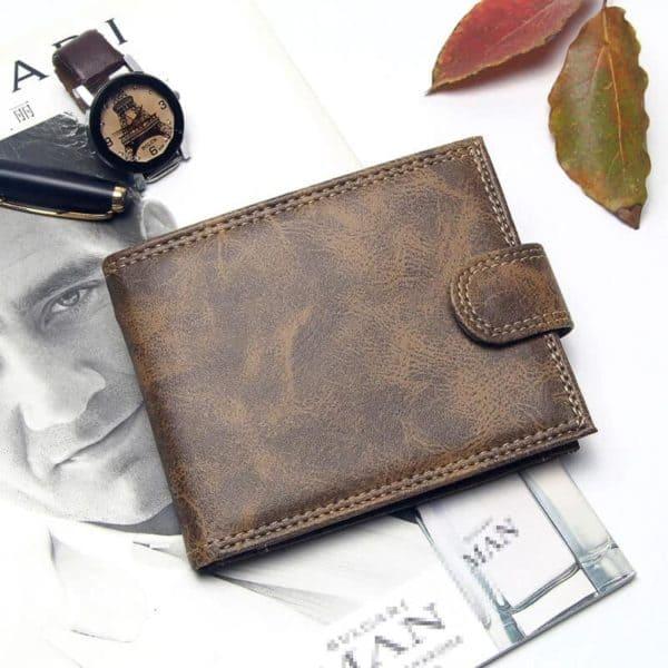 moška denarnica iz usnja