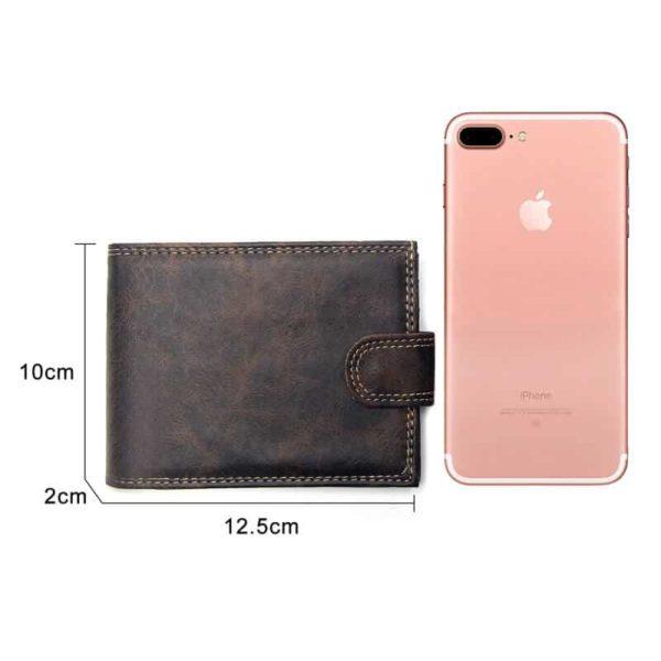 moške denarnice usnjene velikost
